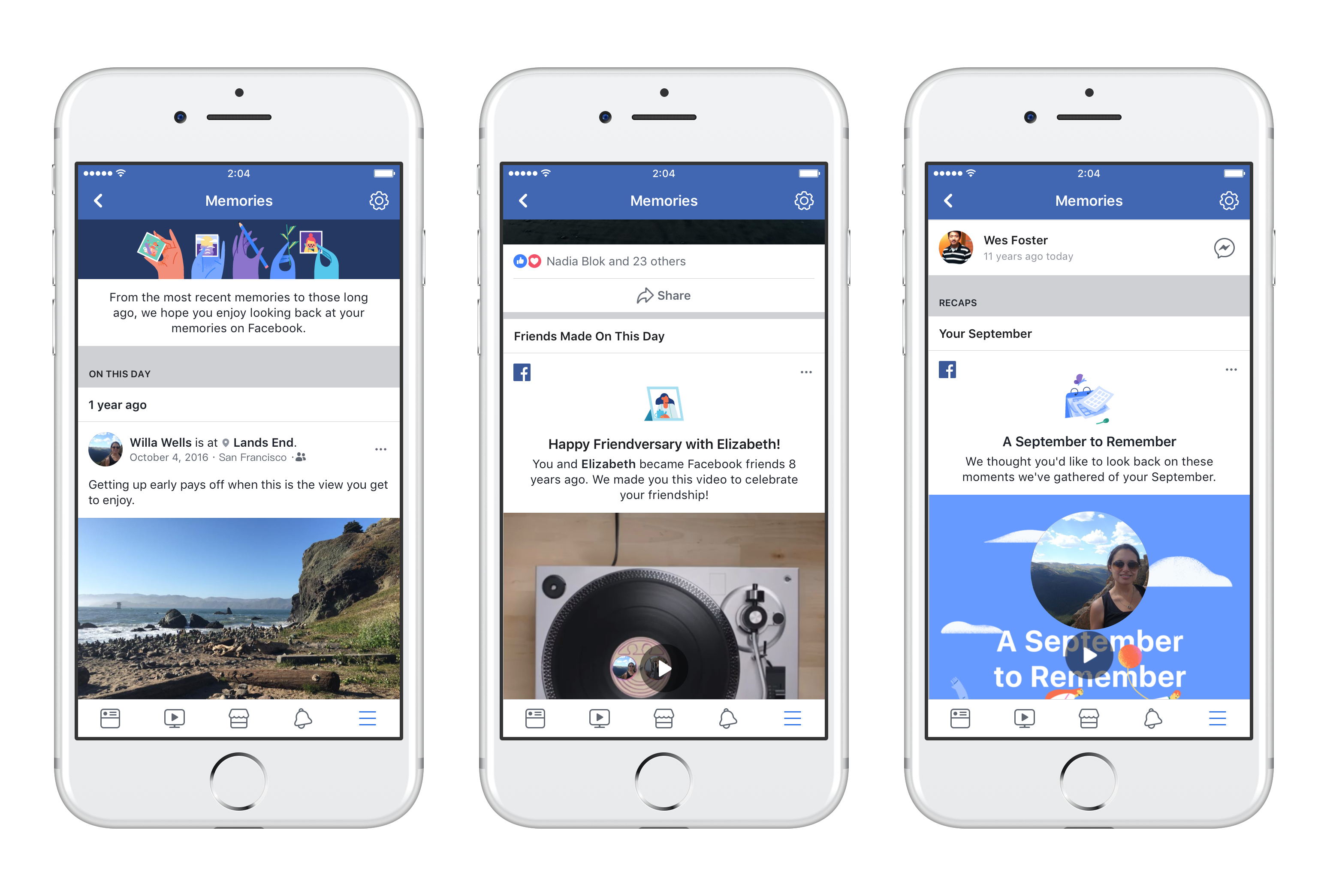 Facebook Launches 'Memories,' a New Home for Reminiscing