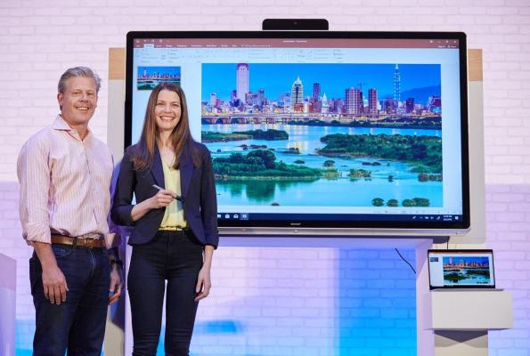 Microsoft announces the Windows Collaboration Display platform for offices OMB Lead Image Computex blog