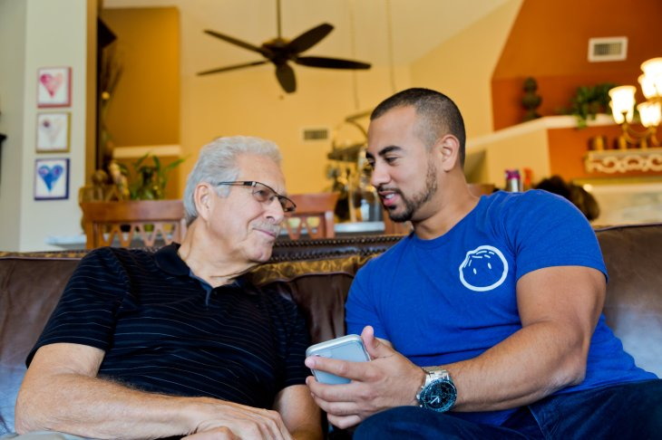 papa is grandkids on demand for seniors who need some extra help