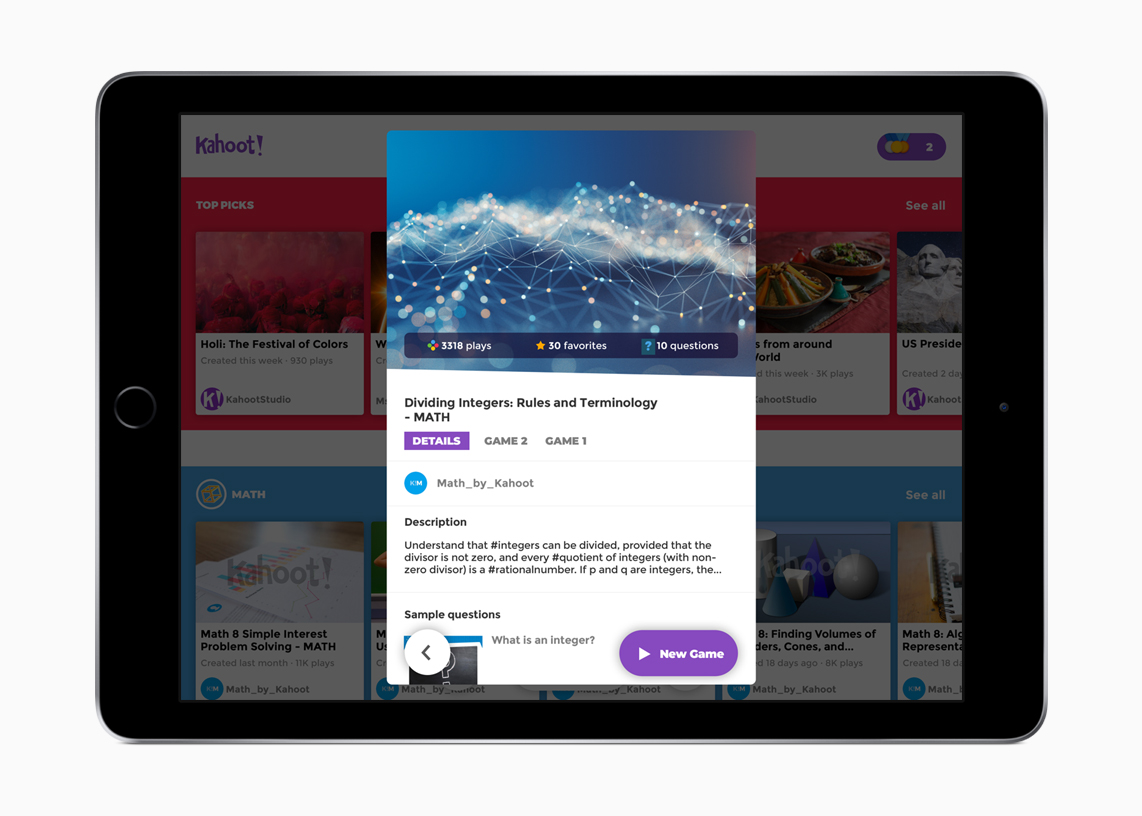 kahoot, the educational gaming startup, has raised another  krone at launcht ipad app #6