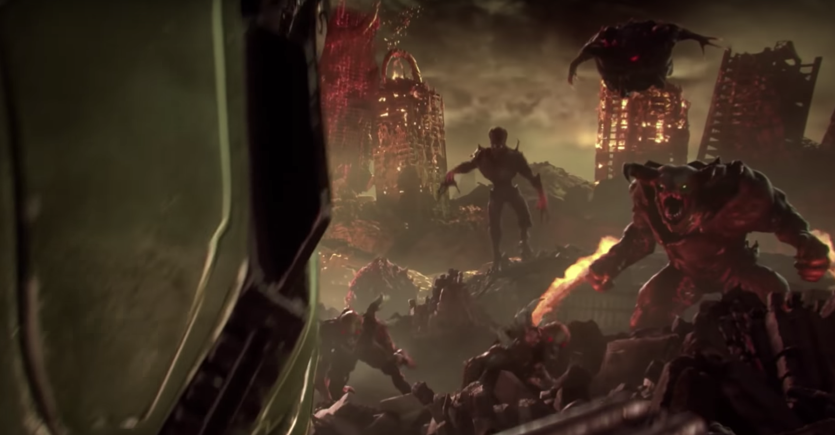 DOOM Eternal announced at E3 with reveal trailer