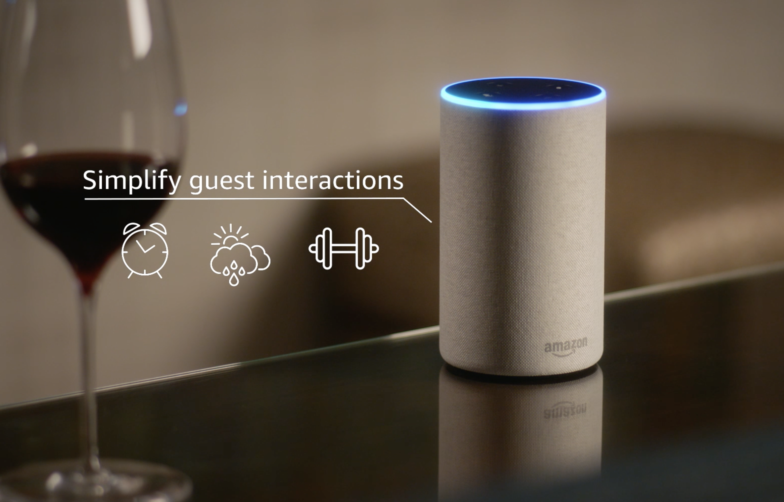 A luxury hotel chain has just hired Amazon's Alexa as a butler