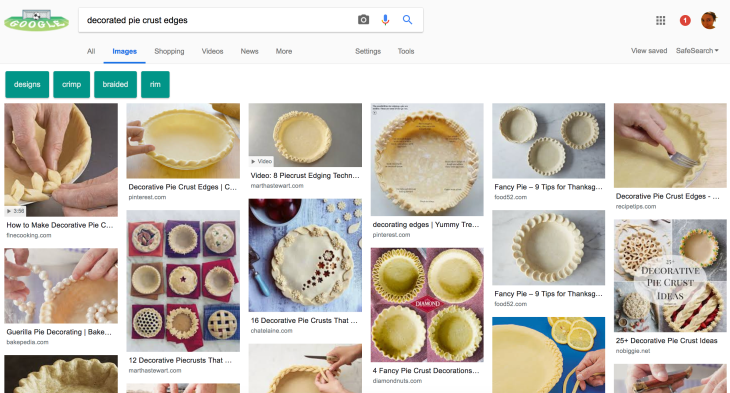 google is testing a new image search on desktop that looks more like