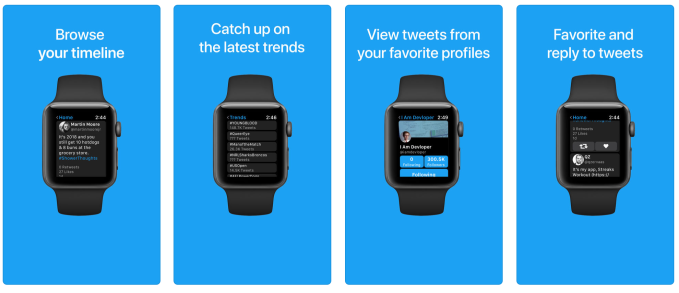 Twitter returns to Apple Watch thanks to Chirp