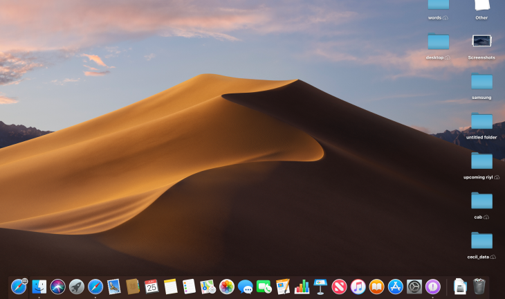 macOS Mojave 10 14 first look | TechCrunch