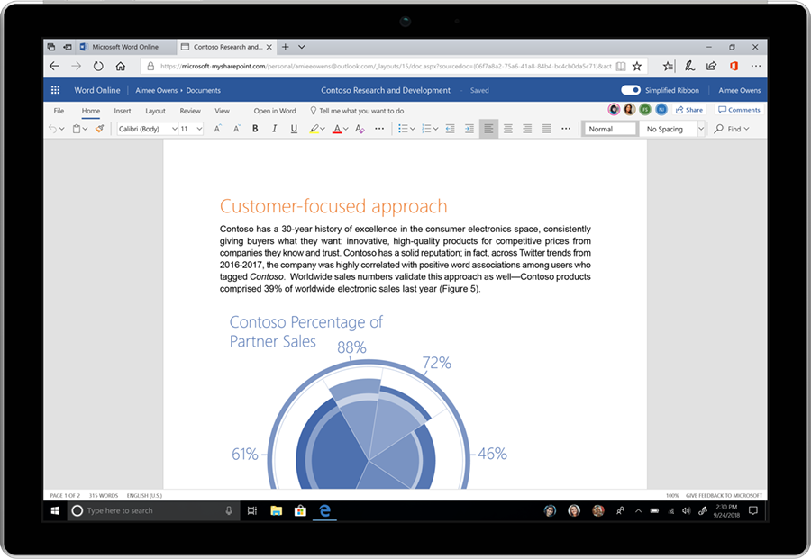 Microsoft Is Giving Office 365 A Simplified Fluent Design Makeover