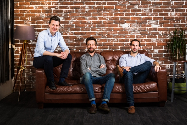Email security startup Tessian raises $13M led by Balderton and Accel Tessian Co founders L R Tim Sadler CEO  Ed Bishop CTO  Tom Adams Head of Client side engineering