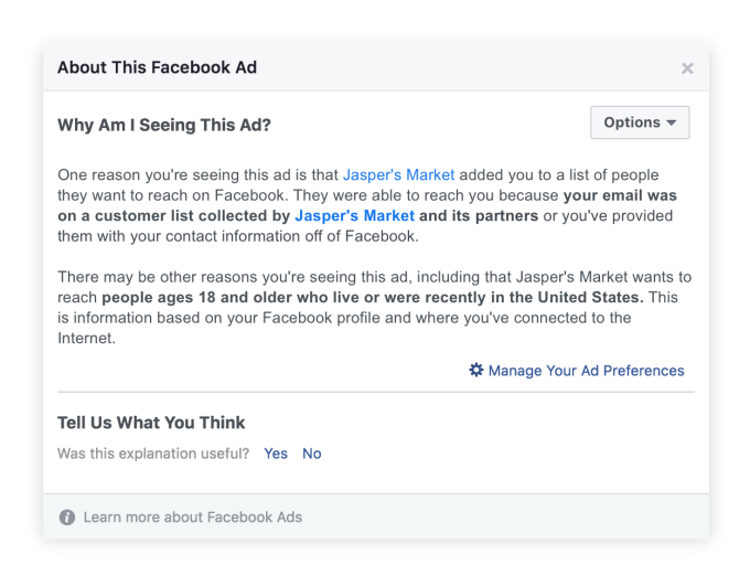 Facebook demands advertisers have consent for email/phone targeting | Tech News 3