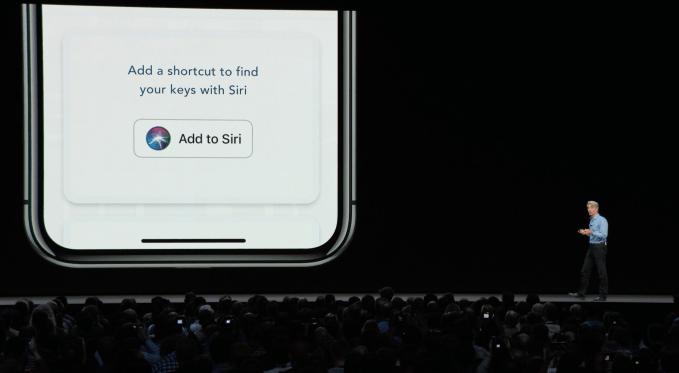 - add to siri button - Apple introduces the AI phone – TechCrunch