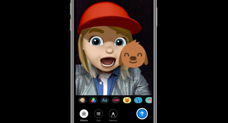 Apple adds camera effects like stickers, filters and Memoji