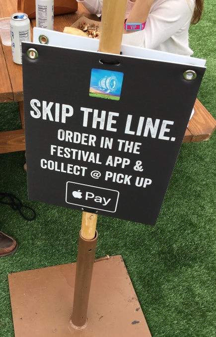 Apple Pay tests 'order ahead' for drinks at music festivals