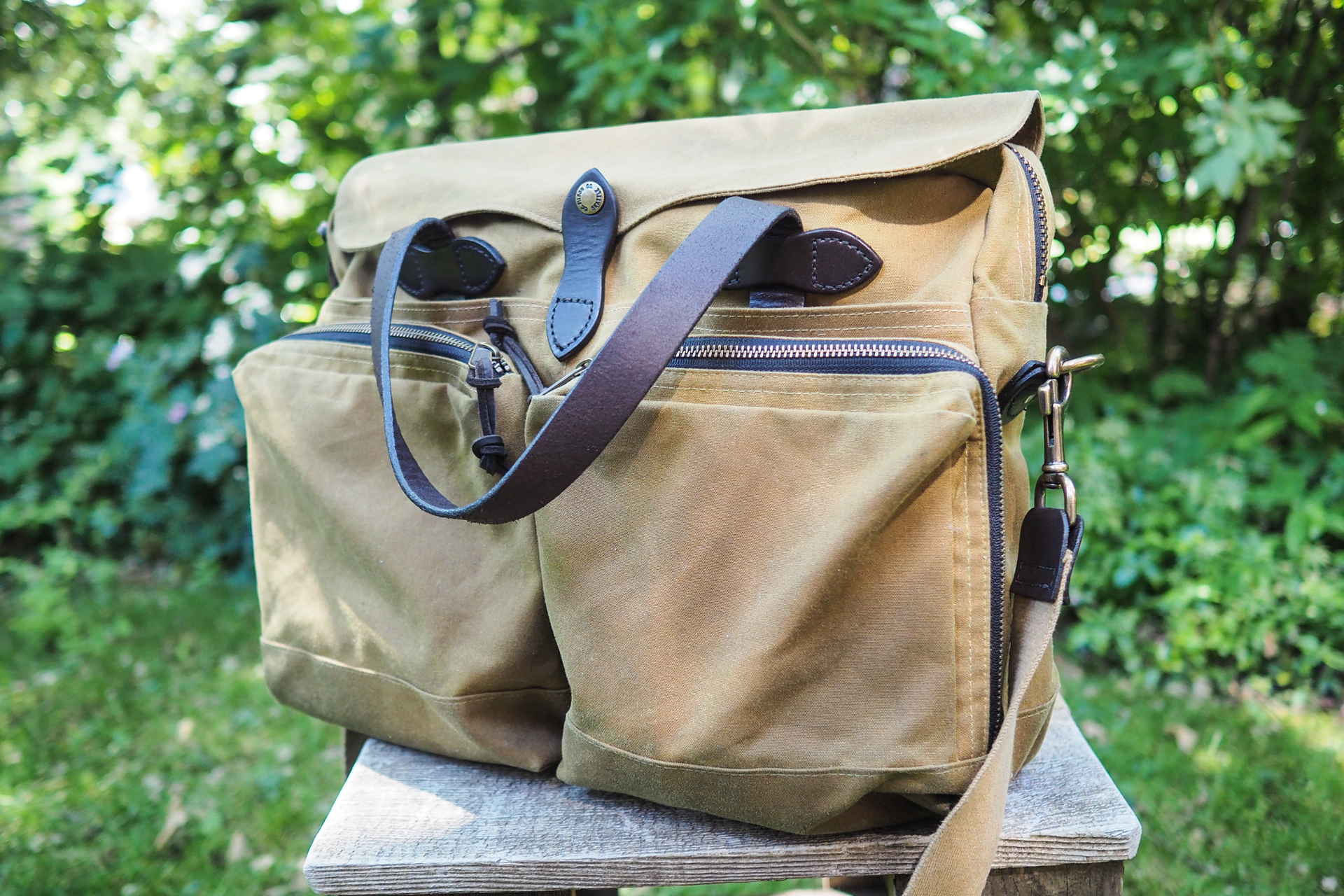 Review Waxed Canvas Bags From Filson Ona Crootore