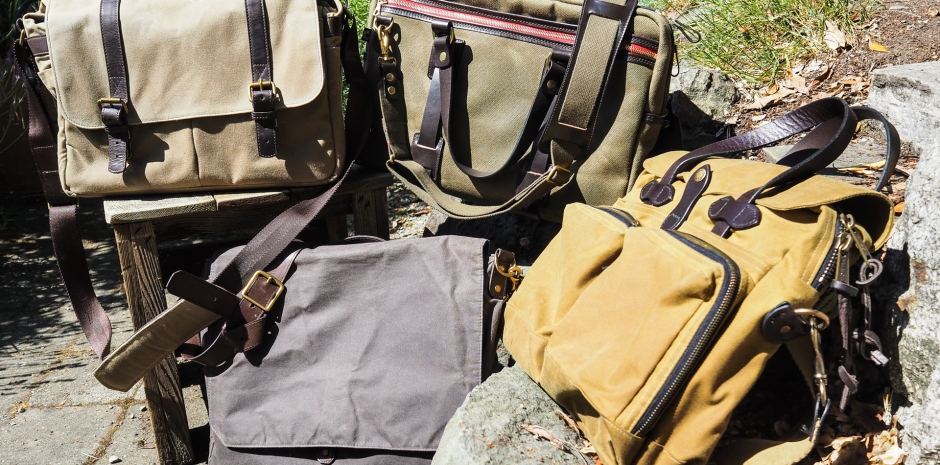 95e8c0f0e8 Review  Waxed canvas bags from Filson