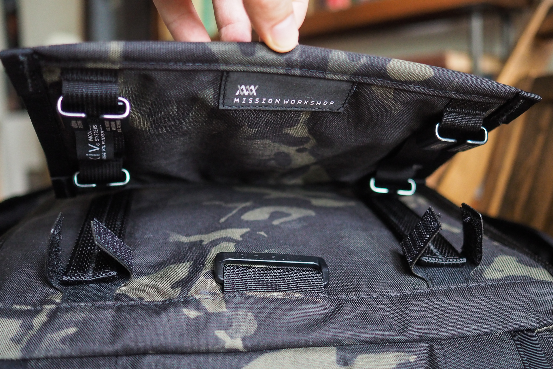 Bag Week 2018: Mission Workshop's Radian rolltop starts simple but grows piece by piece