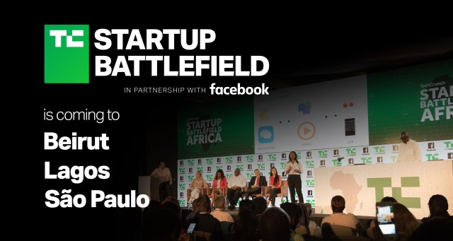 TechCrunch's Startup Battlefield is coming soon to Beirut, São Paolo and Lagos