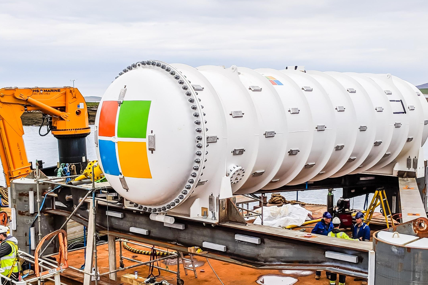 Why Microsoft wants to put data centers at the bottom of the ocean deployment