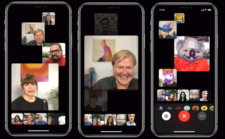 Apple Is Adding Group Facetime Video Calls To Ios 12 Techcrunch