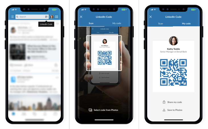 Linkedin adds microsoft powered translations and qr codes to connect linkedin the social network with more than 560 million members who connect around work related topics and job seeking continues to add more features colourmoves