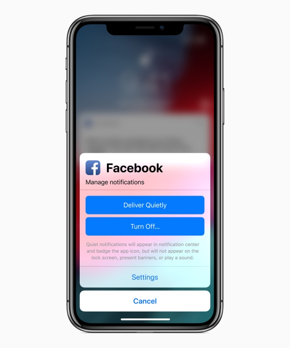 - ios12 facebook notifications 060420181 - Apple introduces the AI phone – TechCrunch