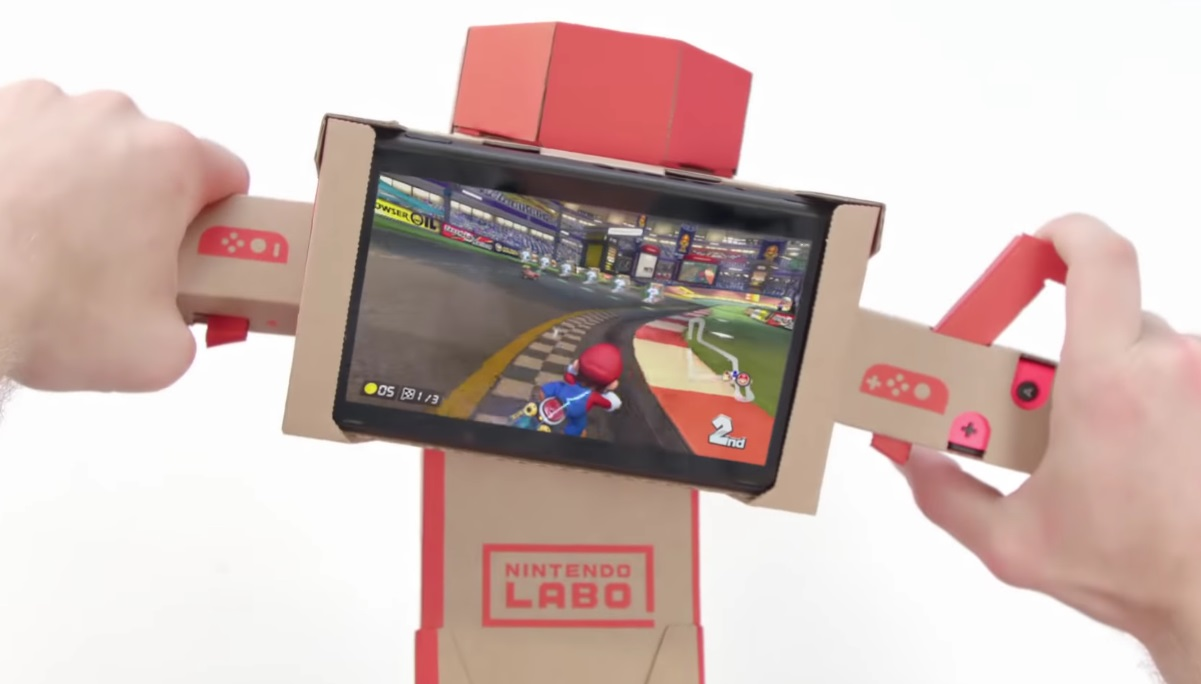 Oh, the things I would do to get this cardboard-style Nintendo Switch labocontroller