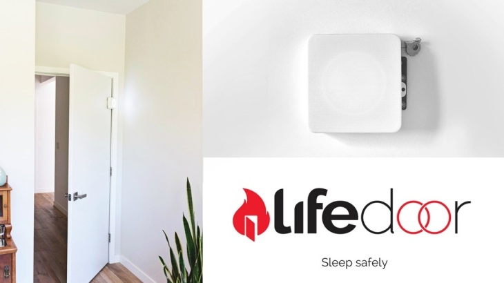 LifeDoor crowdfunds the production version of its fire