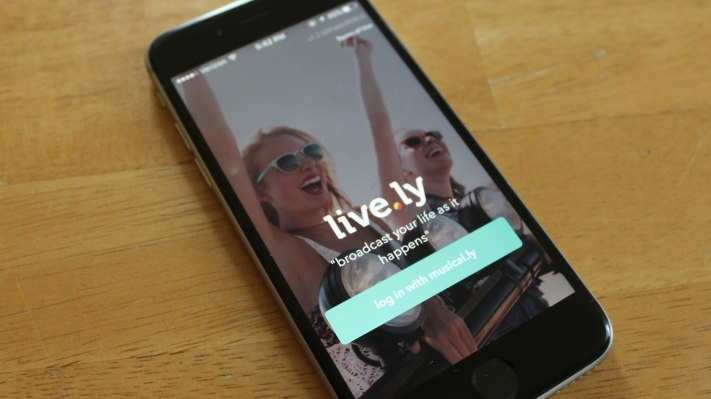 - live ly ios - Musical.ly kills its standalone live-streaming app Live.ly – TechCrunch
