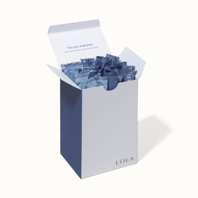 LOLA just raised $24M for a subscription service that ships tampons, pads and now condoms lola box
