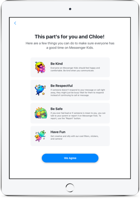 Messenger Kids expands outside the U S , rolls out 'kindness