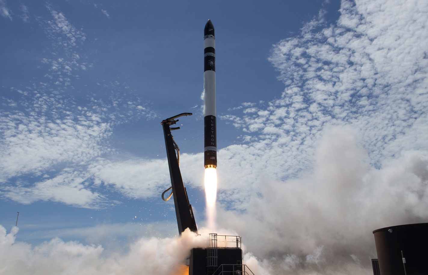 Watch Rocket Lab's first commercial launch, 'It's Business Time' rocketlab test