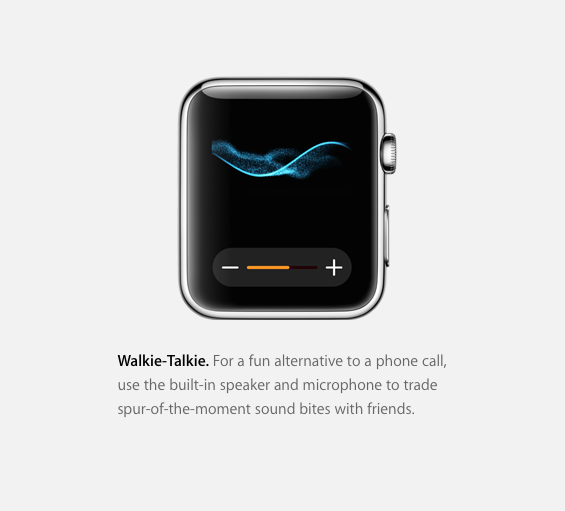 Apple Watch gets Walkie-Talkie mode