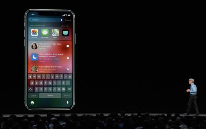 - siri search screen - Apple introduces the AI phone – TechCrunch