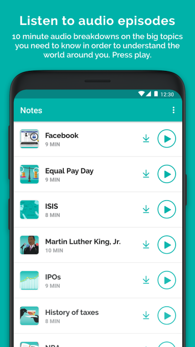 TheSkimm brings its news service to Android skimm audio