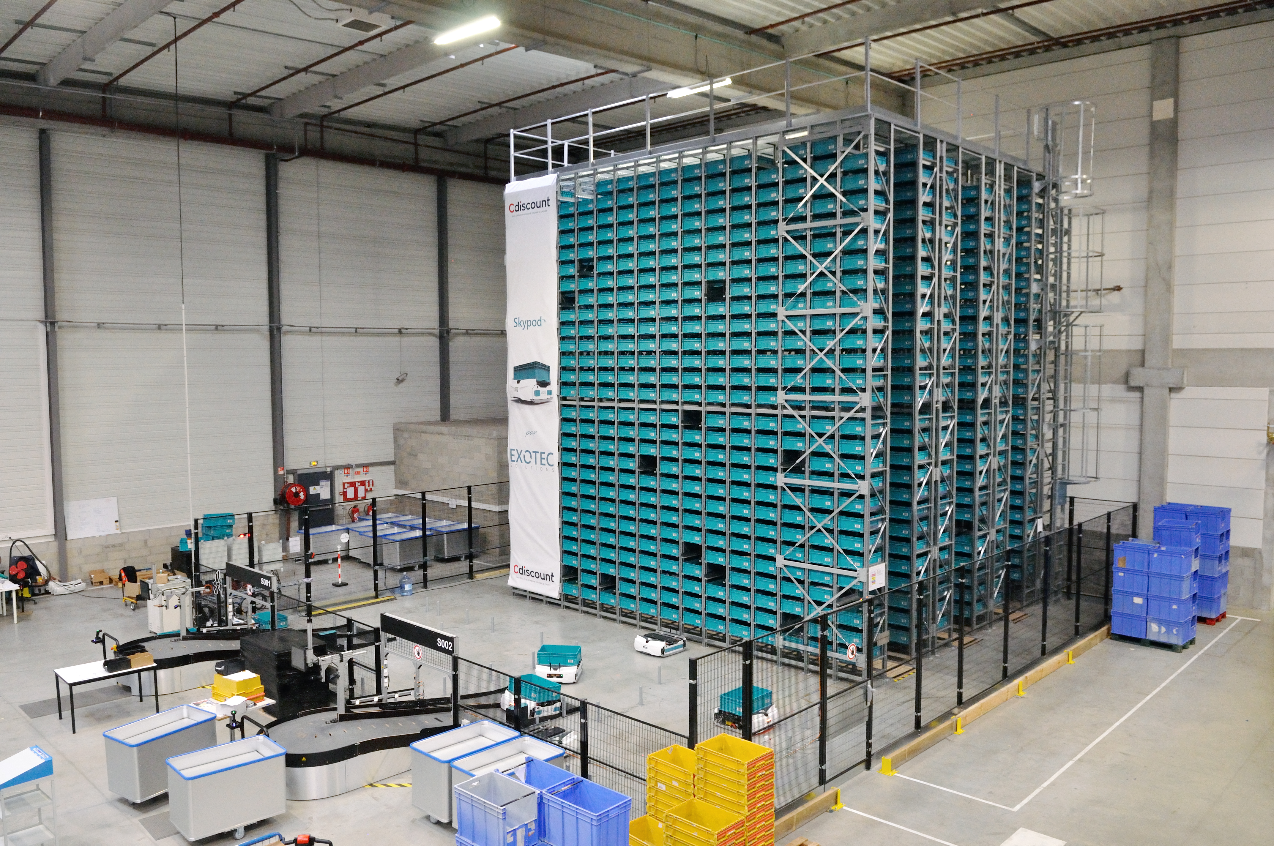 Exotec Solutions raises $17 7 million for its warehouse