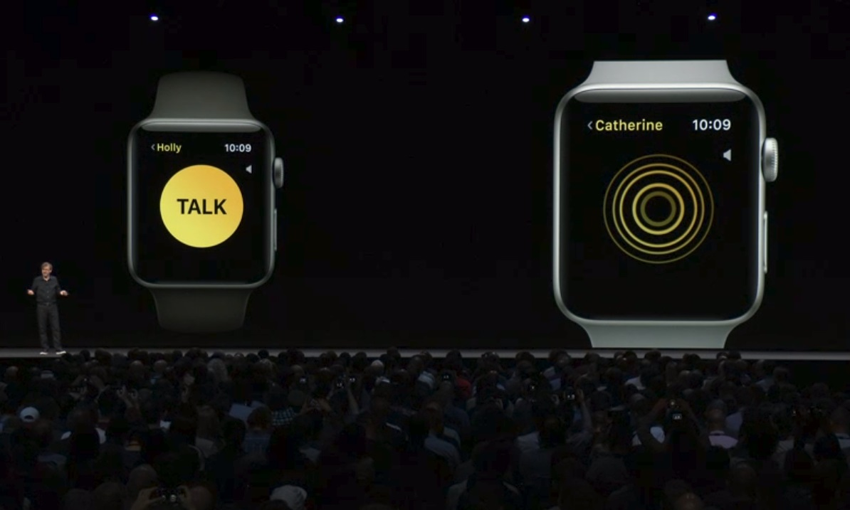 Apple announces Walkie Talkie app for Apple Watch