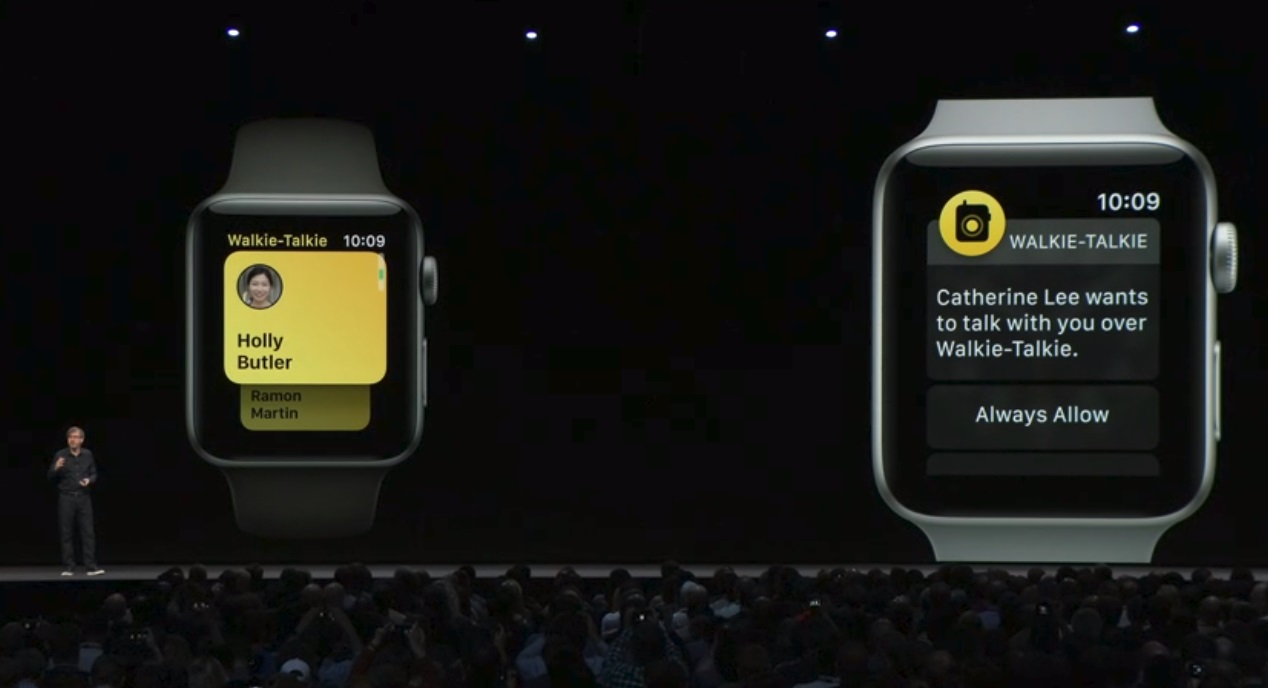 Apple reveals watchOS 5, complete with new Walkie-Talkie app
