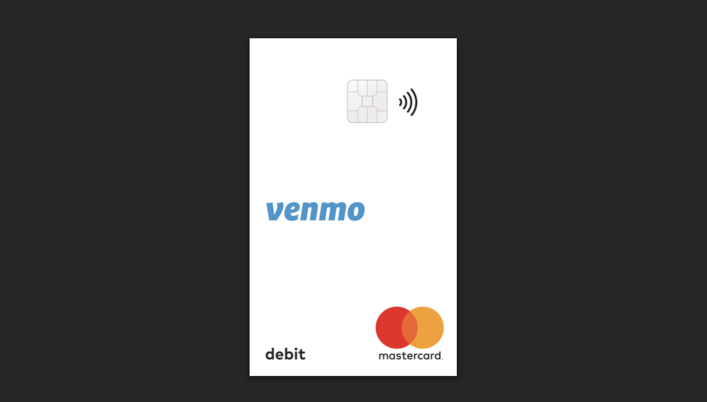 Black Chime Debit Card