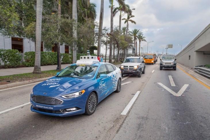 Ford Autonomous Vehicle Miami