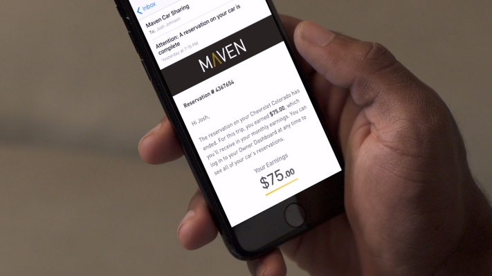 Techmeme: GM is shutting down its Maven car-sharing service