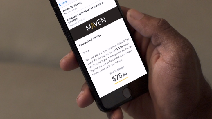 GM's car-sharing service Maven to exit eight cities | TechCrunch