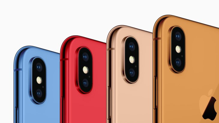 Next iPhone could be available in grey, white, blue, red and