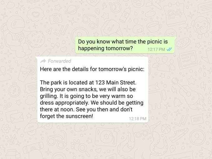WhatsApp now marks forwarded messages to curb the spread of deadly misinformation