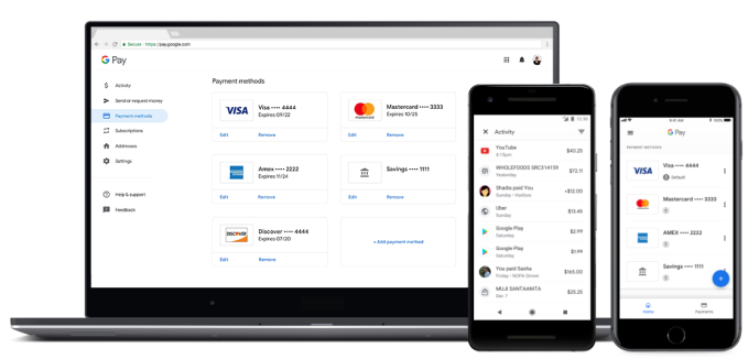 Google Pay rolls out support for peer-to-peer payments and mobile ticketing