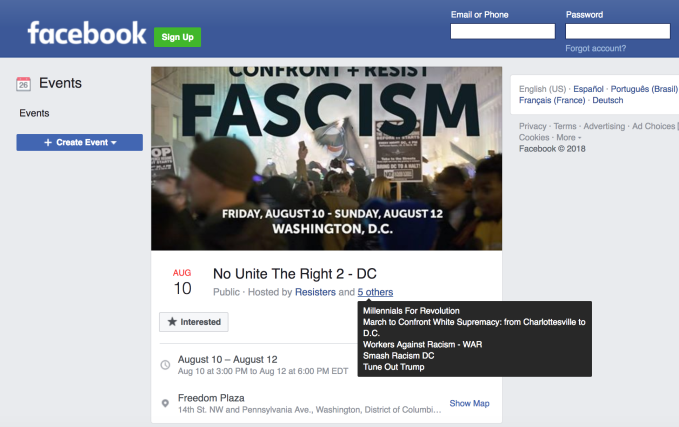 Midterm attackers cited Black Lives Matter in false flag Facebook rally