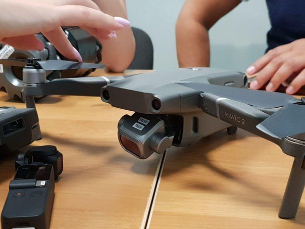 Photo of DJI's upcoming Mavic 2 leaked online hints at swappable cameras