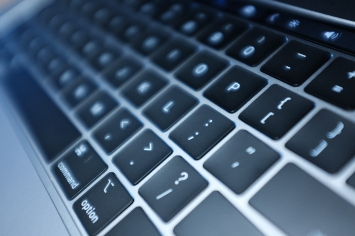How much quieter are the new MacBook Pro keyboards? Hear for
