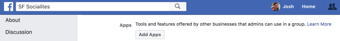 - Facebook Groups Settings Add Apps - Facebook quietly relaunches apps for Groups platform after lockdown – TechCrunch