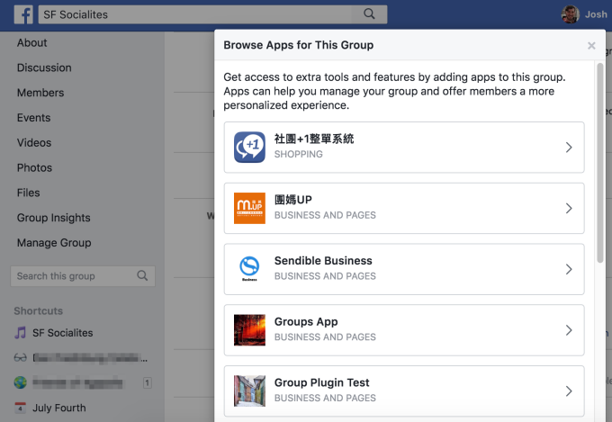 Facebook quietly relaunches apps for Groups platform after