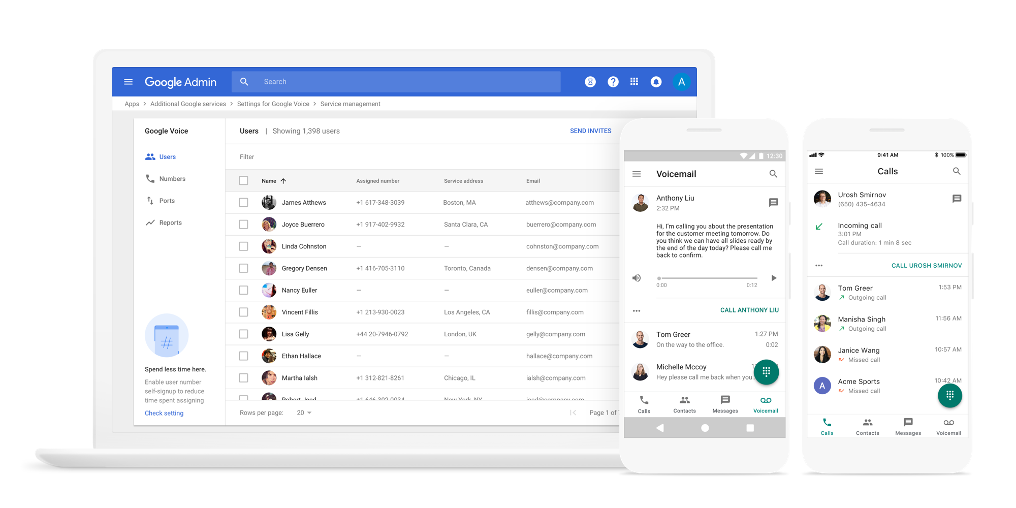Google Is Rolling Out A Version Of Google Voice For Enterprise G