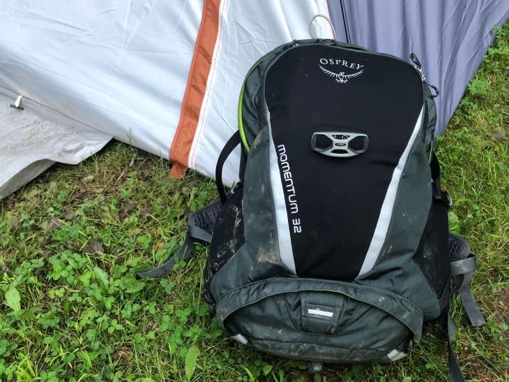 70eefa73eb05 Bag Week 2018: Osprey Momentum 32 is ready for muddy trails   TechCrunch