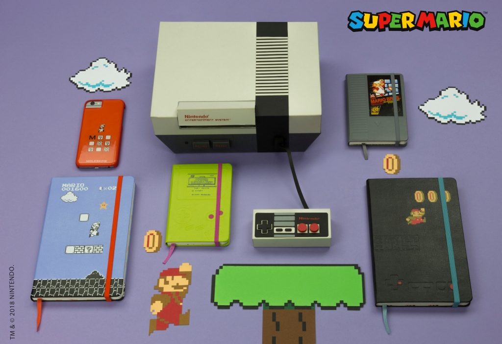 Now you're journaling with power! (with this Mario-branded Moleskine gear)  | TechCrunch